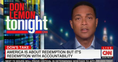 Don Lemon Opens Revamped Show With Call for 'Redemption With Accountability': We've 'Got to Stop Cancelling People for Accusations'