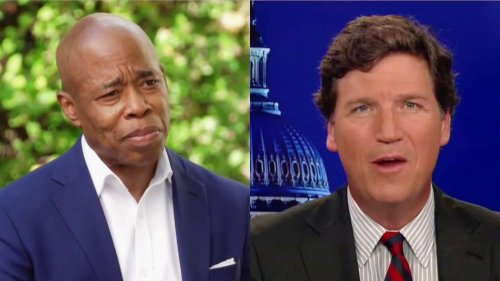 NYC Mayor Candidate Eric Adams Torches Tucker Carlson's Apparent Endorsement and His 'Racist, Anti-Immigrant Propaganda'