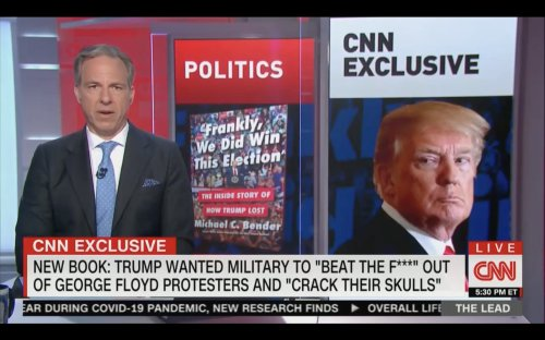 Trump Wanted Military to 'Beat the F*ck' Out of George Floyd Protesters, 'Just Shoot Them,' Says New Book