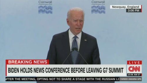 Biden Defends Not Holding Joint Presser With Putin: 'This Is Not a Contest About Who Can Do Better' In Front of the Media