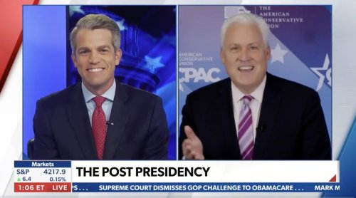 Matt Schlapp Tells Newsmax Republicans Could 'Crown' Trump as Speaker If They Win Back Majority in the House