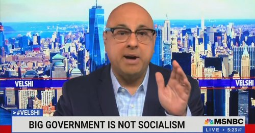 Ali Velshi Says Biden Bringing Back 'Era of Big Government' And It's 'Not Socialism' But Is Still Great Anyway