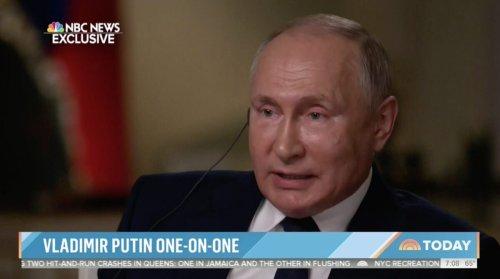 Vladimir Putin Won't Say if Alexei Navalny Will Live