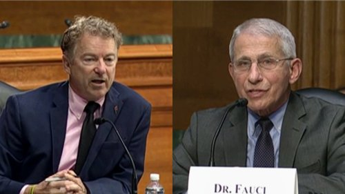 Antony Fauci and Rand Paul Battle Over Wuhan Lab Conspiracy