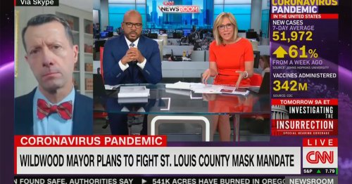 CNN's Camerota, Blackwell Confront Missouri Mayor Opposing Mask Mandate Amid Covid Surge: 'How Are You Going to Get Out of This?'
