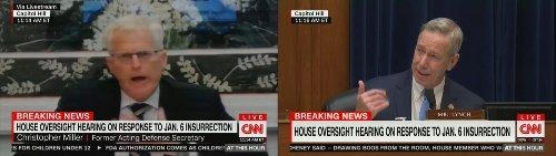 Former Defense Secretary Retracts Testimony Blaming Trump for Capitol Attack