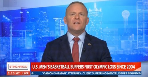 Newsmax Host Says He's Happy U.S. Men's Basketball Team Lost at Olympics: 'Whiny, Overpaid Social Justice Warriors'