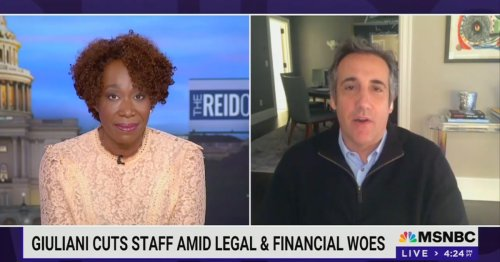 Michael Cohen Says There's No Way Giuliani Doesn't Get Stiffed on Legal Bills: 'Donald Trump Wouldn't Pay Him Two Cents!'