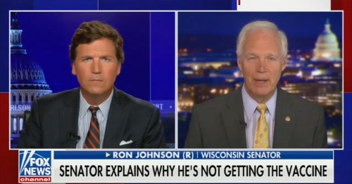 Ron Johnson Complains He's Being 'Attacked' After Being Called Out for Saying He's Not Getting the Vaccine
