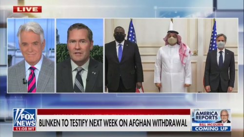 John Roberts Apologizes for Laughing When GOP Rep. Says Biden Admin. Should Own Afghanistan Missteps: 'I Do Not Expect That Will Happen'