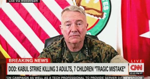 'This Is a Complete and Utter Failure': Reporters Grill CENTCOM Commander on Kabul Airstrike Killing Civilians, Including 7 Children