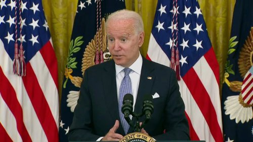 WATCH: Biden Says Power to Enforce National Vax Mandate 'Still a Question' — WH Says They're Not Exploring That 'At All'