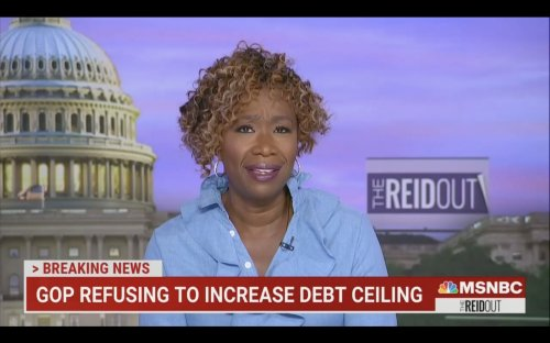 Joy Reid Slams GOP's 'Nihilistic' Refusal To Increase Debt Ceiling: 'A Party Willing To Destroy the U.S. Economy Just To Own the Libs'