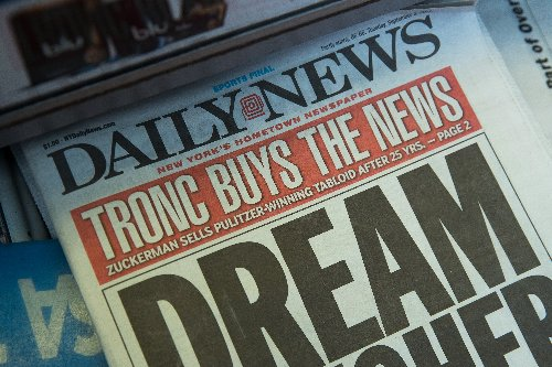 'Please Buy This Newspaper': NY Daily News BEGS for Savior From 'Notorious Hedge Fund' in Op-Ed