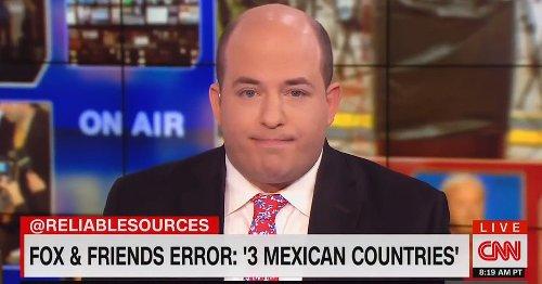 '¯\_(ツ)_/¯': CNN's Brian Stelter Says Sometimes He Feels Like a 'Content Creation Engine' for Fox News