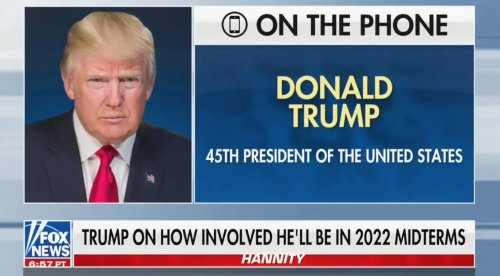 Trump Proclaims to Hannity: 'My Endorsement Means More Than Any Endorsement That Has Ever Been Given By Anybody'