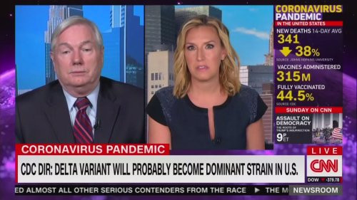 Infectious Disease Expert Tells CNN: 'We're Not Done With This Virus at All'