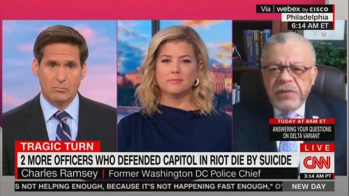 Former DC Police Chief Directly Connects Insurrection-Denying Republicans With Capitol Police Suicides