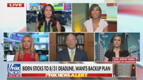 Fox's Faulkner Blasts Biden Admin Downplaying Afghanistan Chaos: They're 'Talking to Us as Though We're Stupid'