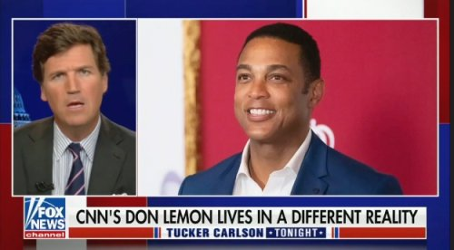 Tucker Carlson's Racist Segment About Don Lemon's Success