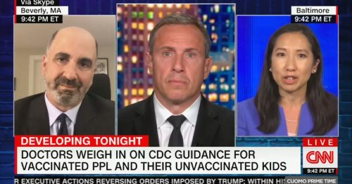 CNN Medical Analyst Worried New CDC Mask Guidance Is 'Too Abrupt'