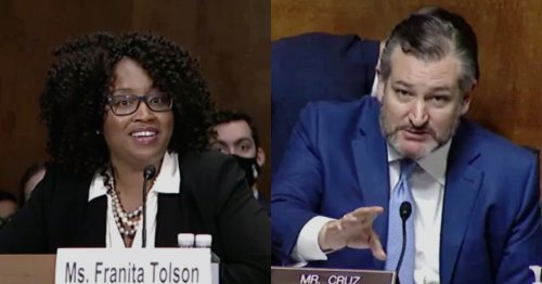 WATCH: Ted Cruz BECLOWNED By Trio of Congressional Witnesses Over 'Racist' Voter ID Laws
