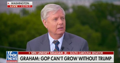 Lindsey Graham: If You Try to Drive Trump Out of the GOP, 'Half the People Will Leave'