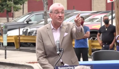 'You've Lost Your Minds!' Gov. Phil Murphy Goes Full Jersey on Anti-Vax Hecklers, Calls Them 'Ultimate Knuckleheads'