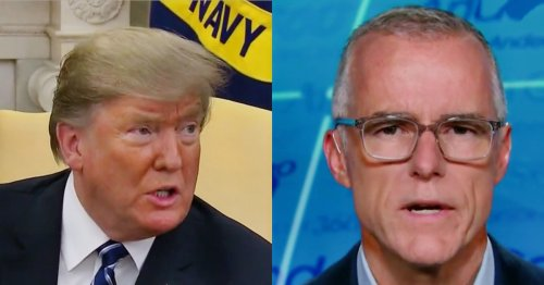 Trump Target Andrew McCabe Does Sober Victory Lap on CNN After Firing Reversed, Pension Restored
