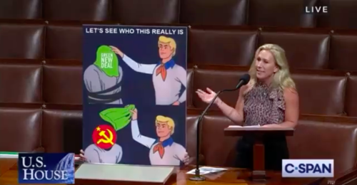 Marjorie Taylor Greene and the Scooby Doo Gang Teamed Up To Fight the Green New Deal On Wednesday