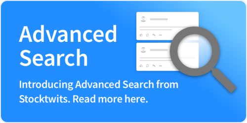 Advanced Search is Now on Stocktwits