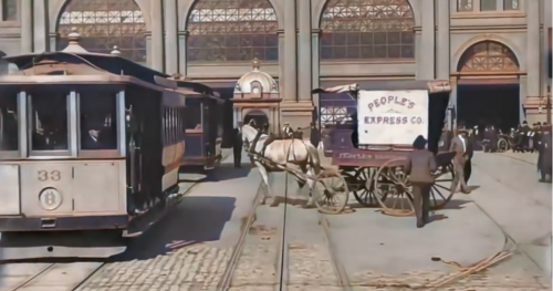 Restored Footage Shows 1906 San Francisco Days Before the 'Big One'