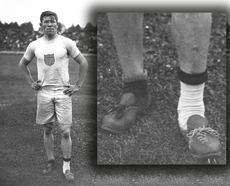 Olympics Flashback: Jim Thorpe won two Gold medals with shoes someone had thrown in the trash