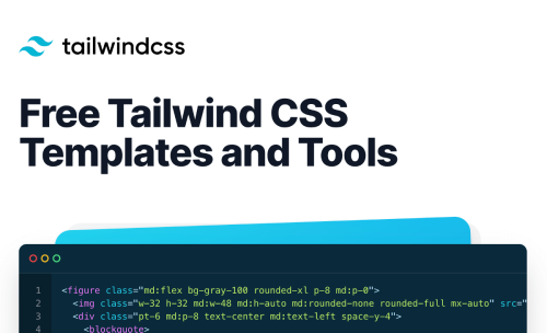 10 Free and Open-Source Tailwind CSS Templates