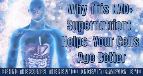 HOW TO OPTIMIZE YOUR CELLULAR HEALTH: WHY THIS NAD+ SUPERNUTRIENT HELPS CELLS AGE BETTER