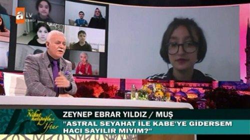 Nihat Hatipoğlu'na Şok Soru! Astral Seyahatle Kabe'ye Gitsem...