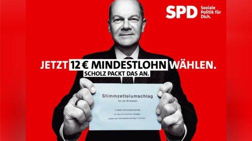 SPD startet Scholz-Kampagne und lästert über die CDU