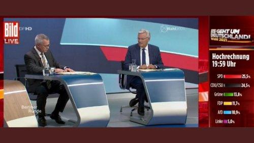 Bild TV übernimmt ungefragt Wahl-Berichterstattung von ARD und ZDF