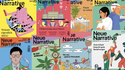 """Neue Narrative"": New Work als Magazin"
