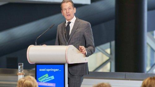 Springer-CEO Döpfner betreibt Schadensbegrenzung beim BDZV