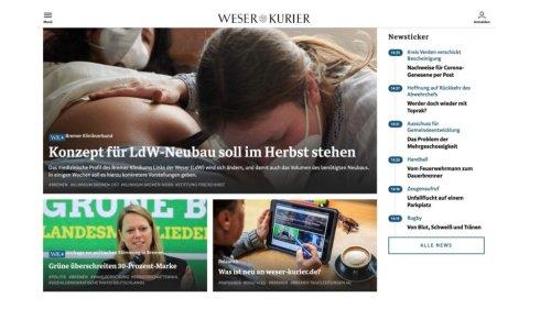 """""""Weser-Kurier"""" mit Online-Relaunch und neuer Content-Strategie"""