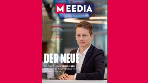 Was Sie ein der neuen MEEDIA-Ausgabe erwartet