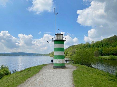 Am Kemnader See - auch das Ruhrgebiet kann Leuchtturm! - meikemeilen -