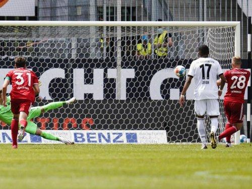 SV Sandhausen zahlt gleich Lehrgeld: 0:2 gegen Düsseldorf