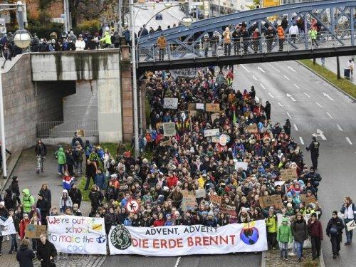 Grüne, Linke und GEW rufen zu Teilnahme an Klimaprotest auf