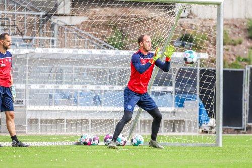 Karlsruher SC setzt weiter auf Ersatzkeeper Markus Kuster
