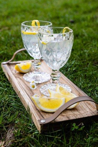 Selbstgemachte Zitronensirup