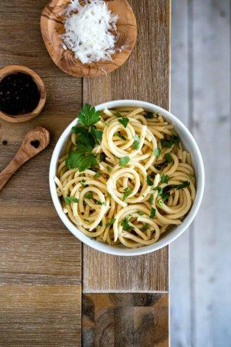 Cacio e Pepe – Pasta mit Pecorino und Pfeffer