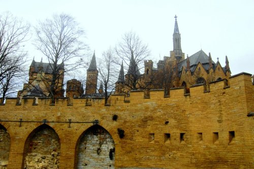 What fairy tales are made of Hohenzollern Castle Germany