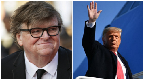 Michael Moore Calls For Trump's Imprisonment: 'We Are Not Done With Him'